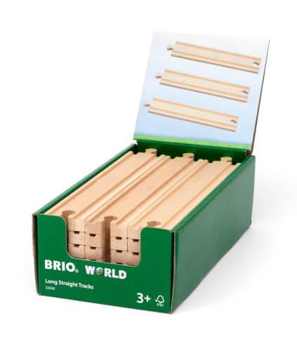 BRIO 63293000 1/1 Gerade Gleise (D)