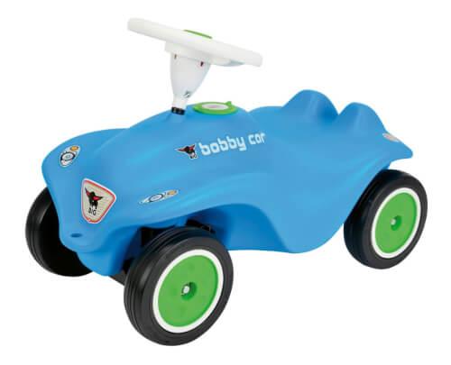 BIG New Bobby Car RB3, Kunststoff, bis 50 kg, ca. 57x30x39 cm, hellblau, ab 12 Monate