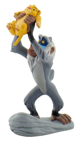 Bullyland Walt Disney Rafiki mit Baby Simba, ab 3 Jahren.