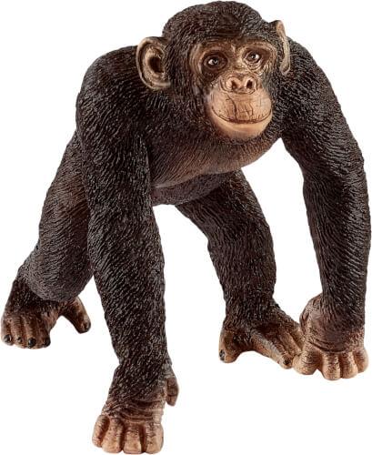 Schleich Wild Life 14817 Schimpanse Männchen, ab 3 Jahre
