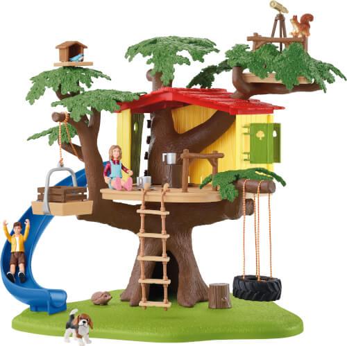 Schleich 42408 Farm World Abenteuer Baumhaus