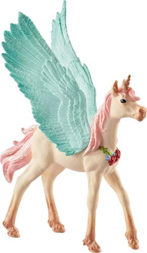 Schleich Bayala - 70575  Schmuckeinhorn-Pegasus Fohlen, ab 5 Jahre