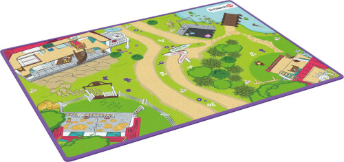 Schleich 42465 Horse Club Spielteppich Horse Club