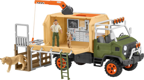 Schleich Wild Life 42475 Großer Truck Tierrettung