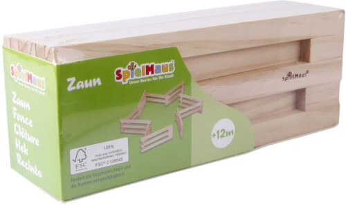 SpielMaus Holz Zaun, faltbar