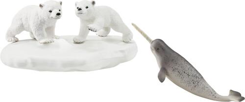 Schleich Wild Life 42531 Eisbären-Rutschpartie