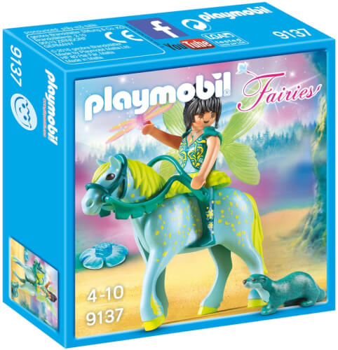 Playmobil 9137 Wasserfee mit Pferd Aquarius