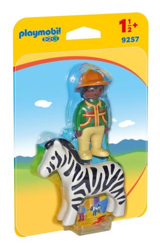 Playmobil 9257 Ranger mit Zebra