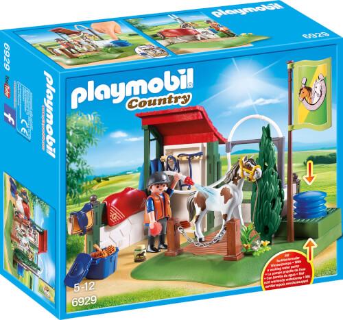 PLAYMOBIL 6929 Pferdewaschplatz, ca. 10x25x28, ab 5 Jahren