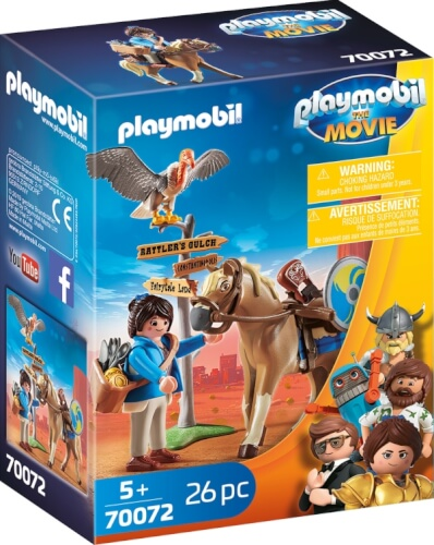 Playmobil 70072 Playmobil: THE MOVIE Marla mit Pferd