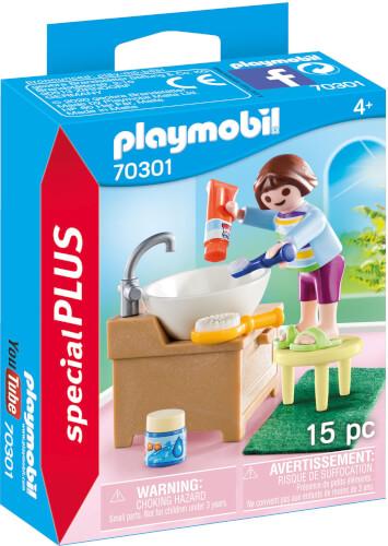 PLAYMOBIL 70301 Mädchen beim Zähneputzen