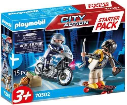 Playmobil 70502 Starter Pack Polizei Ergänzungsset