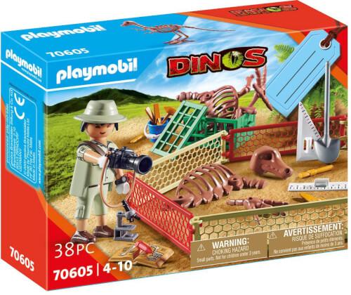Playmobil 70605 Geschenkset ''Paläontologe''