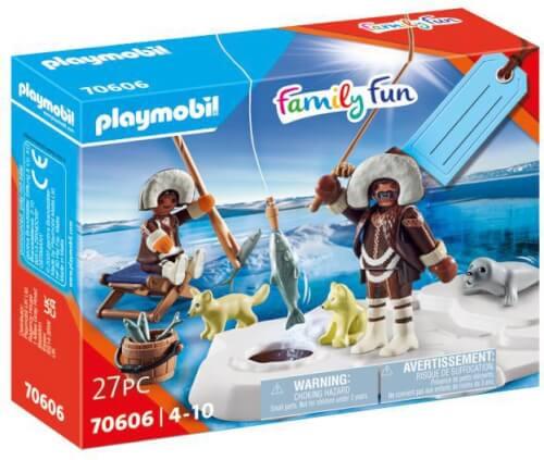 Playmobil 70606 Geschenkset ''Eisangler''