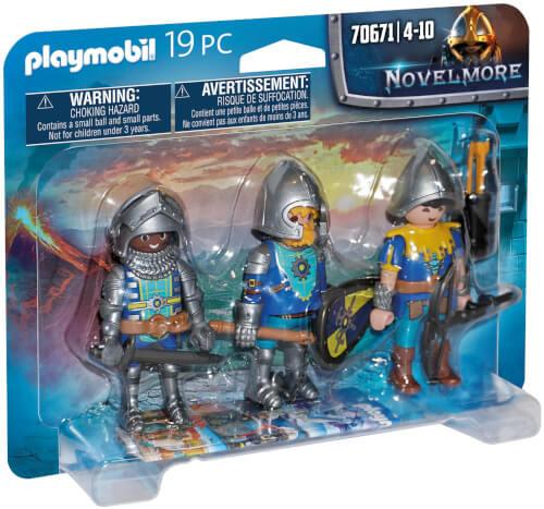 Playmobil 70671 3er Set Novelmore Ritter
