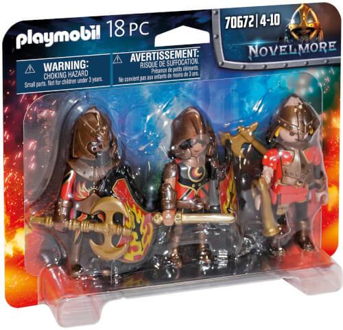 Playmobil 70672 3er Set Burnham Raiders