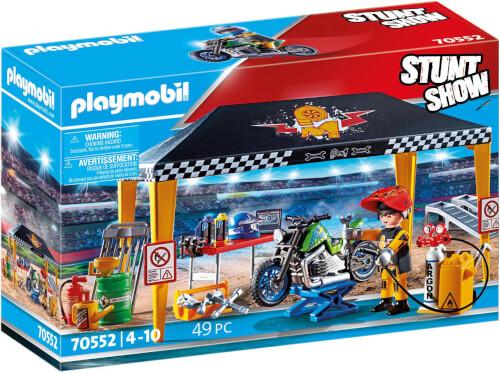 Playmobil 70552 Stuntshow Werkstattzelt
