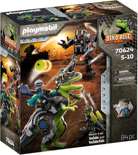 Playmobil 70624 Dino Rise T-Rex: Gefecht der Giganten
