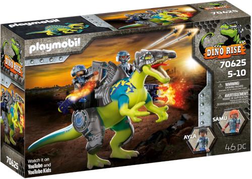 Playmobil 70625 Dino Rise Spinosaurus: Doppelte Verteidigungs-Power