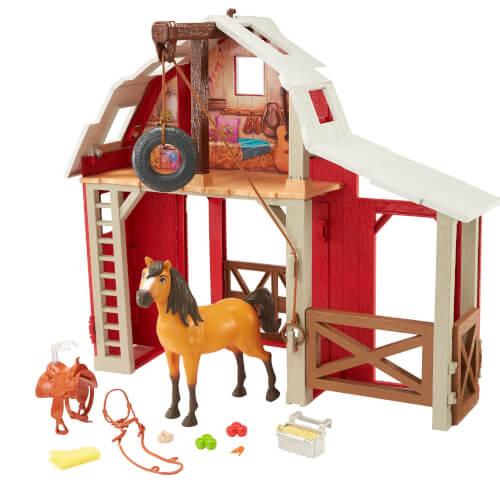 Mattel HBP29 Spirit Pferdestall Spielset