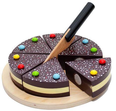 Schokoladentorte zum Schneiden