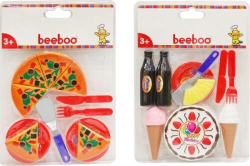 Beeboo Kitchen Lebensmittel-Set, 2-fach sortiert