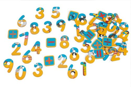 Scratch - Magnete 60 Zahlen Safari