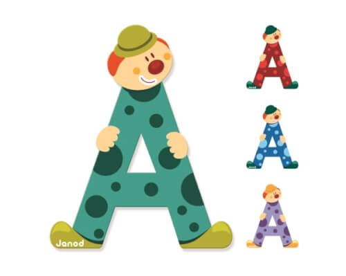 Buchstaben Clown A