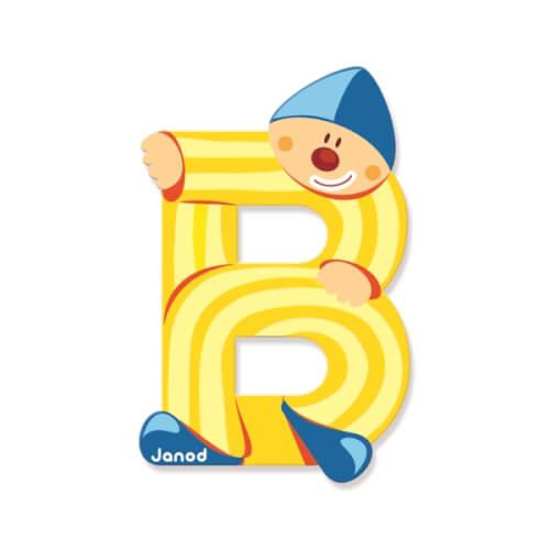 Buchstaben Clown B