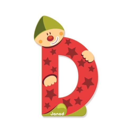 Buchstaben Clown D