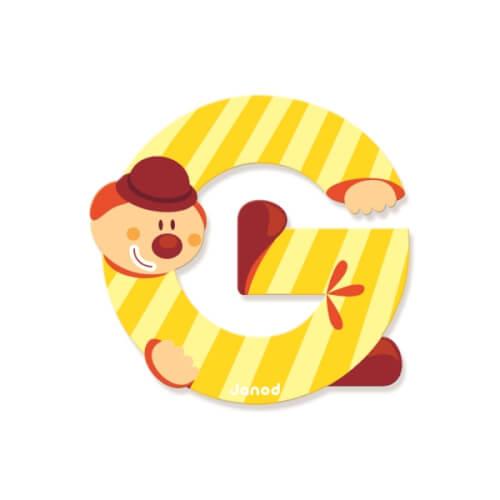 Buchstaben Clown G