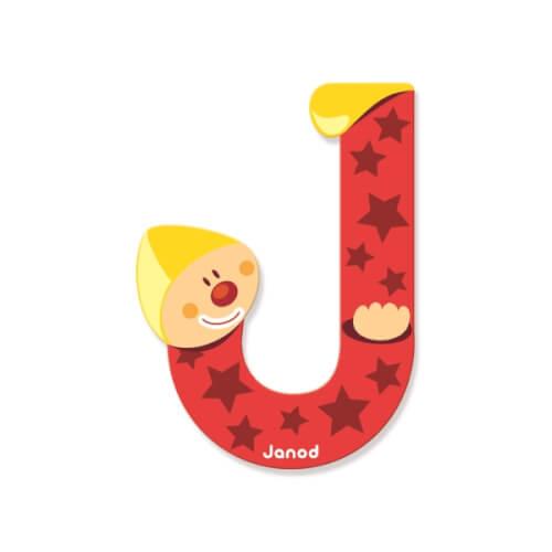 Buchstaben Clown J