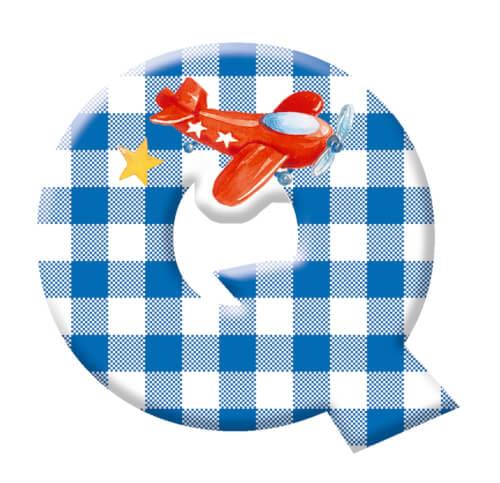 Deko-Buchstabe Q BabyGlück