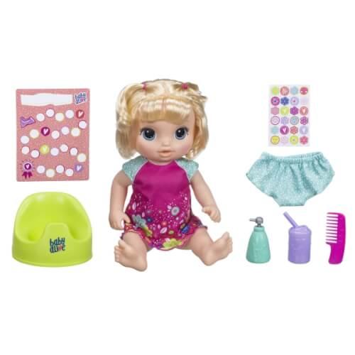 Hasbro E0609GC0 Baby Alive Töpfchentanz, blond, ab 3 Jahren