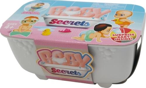 Zapf BABY Secrets Einzelpackungen, sortiert