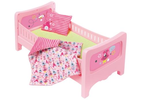 Zapf BABY born® Bett mit Kuschelbettzeug