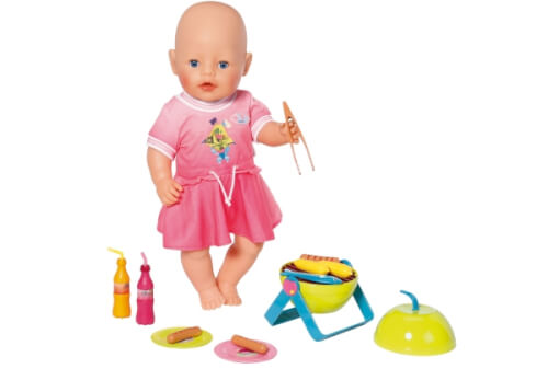 Zapf BABY born® Play&Fun Grill Set, ab 3 Jahren