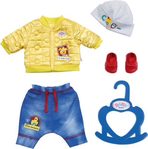 Zapf BABY born Little Cool Kids Outfit 36 cm