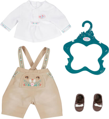 Zapf BABY born Trachten-Outfit Junge 43 cm