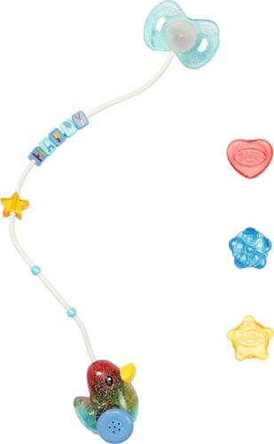 Zapf 830017 BABY born Happy Birthday Interactive Magic Schnuller 43 cm