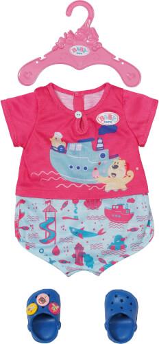 Zapf 830628 BABY born Bath Pyjamas & Clogs 43 cm