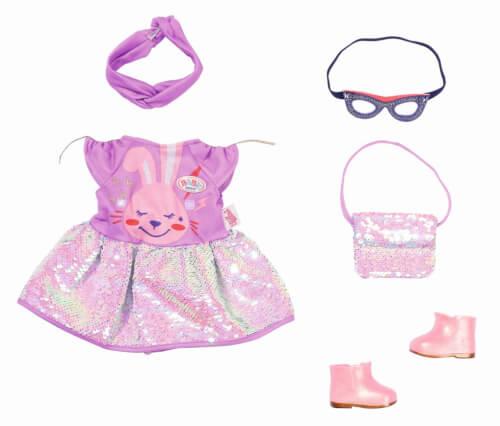 Zapf 830796 BABY born Deluxe Happy Birthday Outfit 43 cm