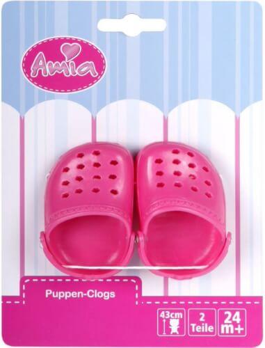 Amia Clogs für Puppen 43 cm
