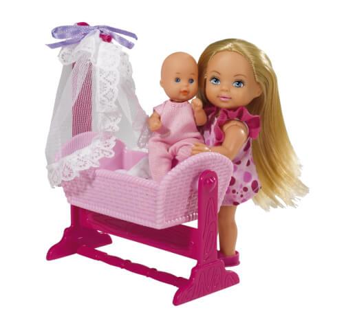 Simba Evi Love Doll Cradle, 2-sortiert.