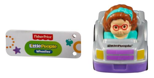 Mattel Fisher Price Little People Hochhausrennbahn