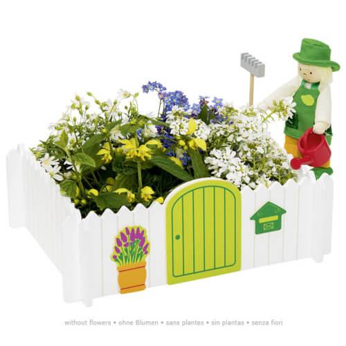 GoKi Biegepuppe Gärtner, Mein eigener Garten