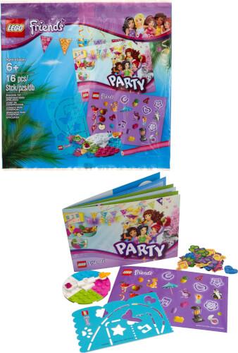 LEGO® Friends Give Away Party Ausrüstung