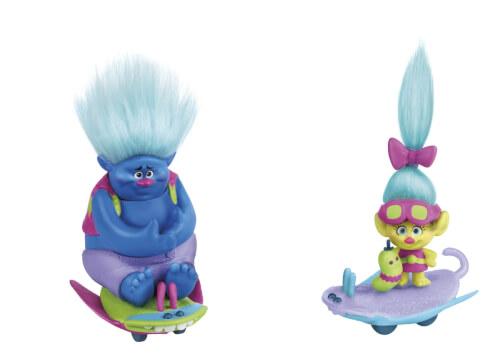 Hasbro B6558EU4 Trollstadt Trolls mit Käferboards