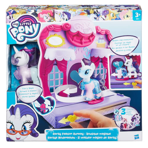 Hasbro B8811EU4 My Little Pony Raritys Modenschau