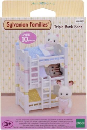 EPOCH Sylvanian Families 4448 Dreistöckiges Babyhochbett